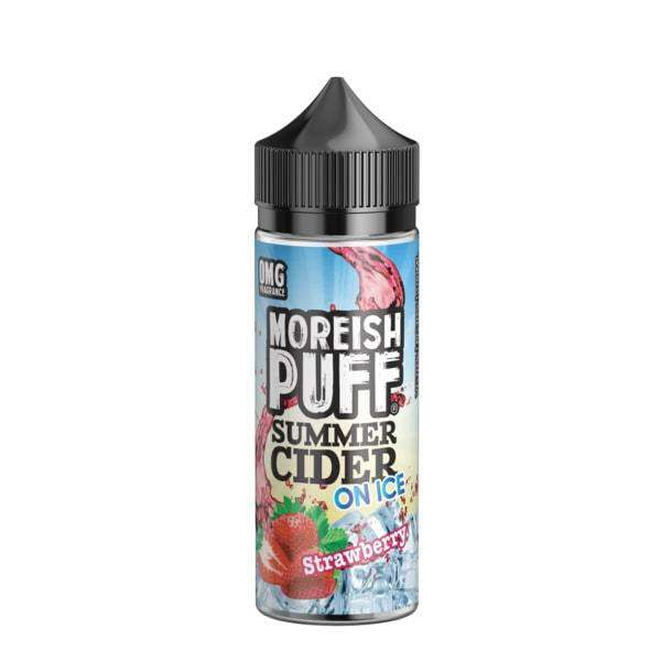 Moreish Puff E-Liquid Moreish Puff - Summer Cider On Ice - 100ml Shortfill - Strawberry