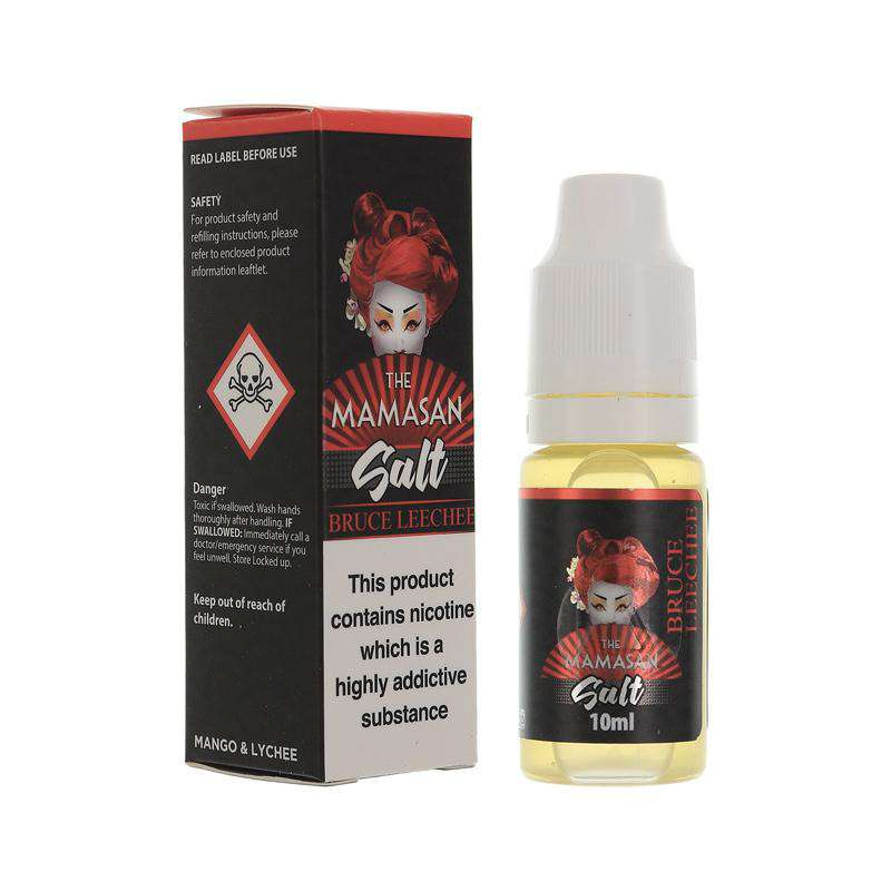 The Mamasan Nic Salts The Mamasan Salt - Bruce Leechee - 20mg - 10ml