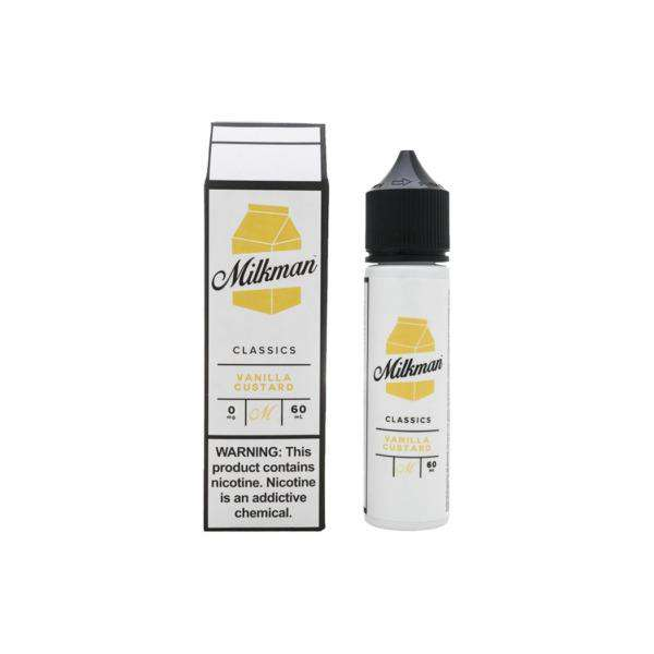 The Milkman E-Liquid The Milkman - 50ml Shortfill - Vanilla Custard