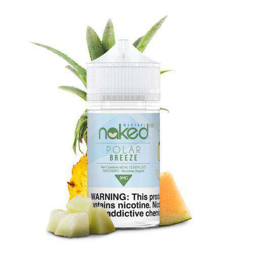 Vapeazy E-Liquid Naked 100 - 60ml Shortfill - Polar Breeze