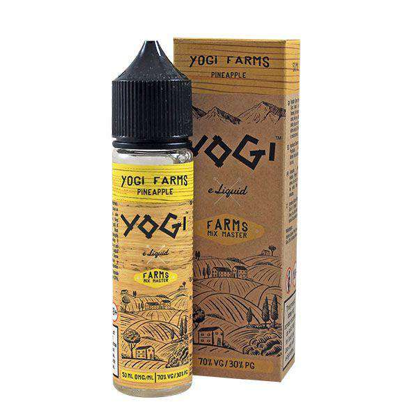 Yogi E-Liquid Yogi Farms - 50ml Shortfill - Pineapple