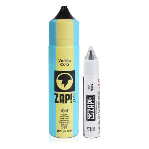 Zap E-Liquid Zap! - Vintage Cola - 50ml Shortfill - Vanilla Cola