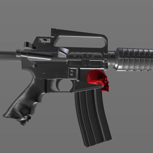 AR-15 Assault Rifle Skull Attachment