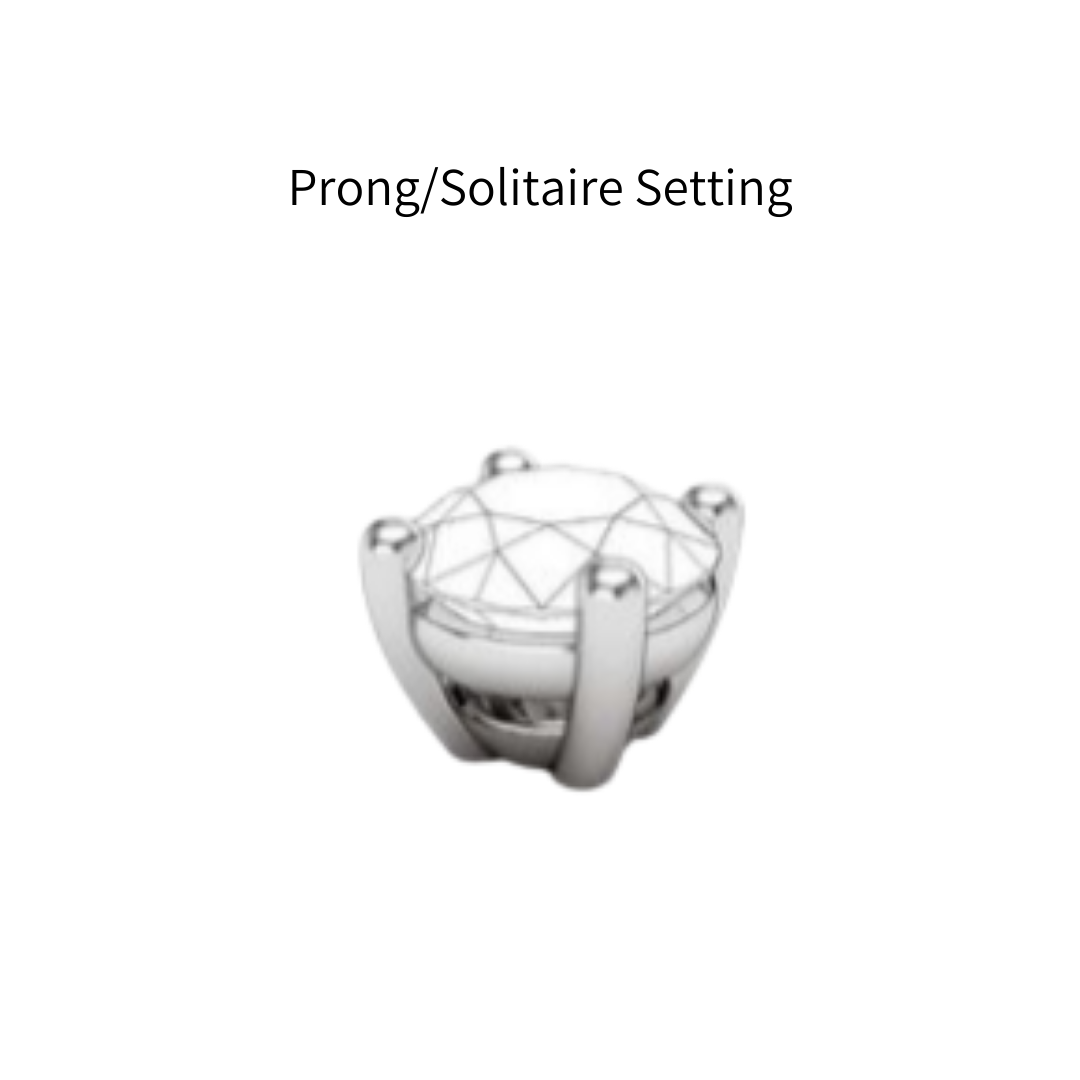 prong solitaire ring setting