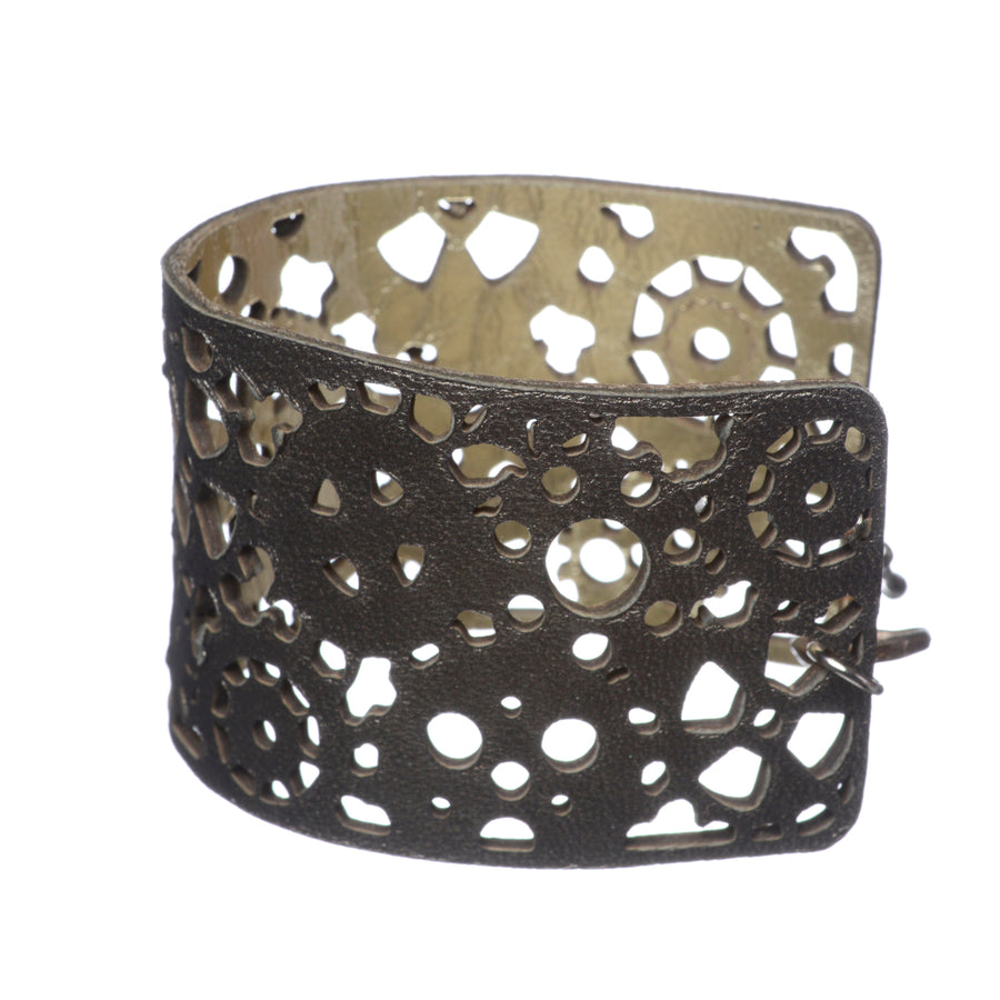 Heavy Mettle Yellow Gold Short Cuff - Carrie K.