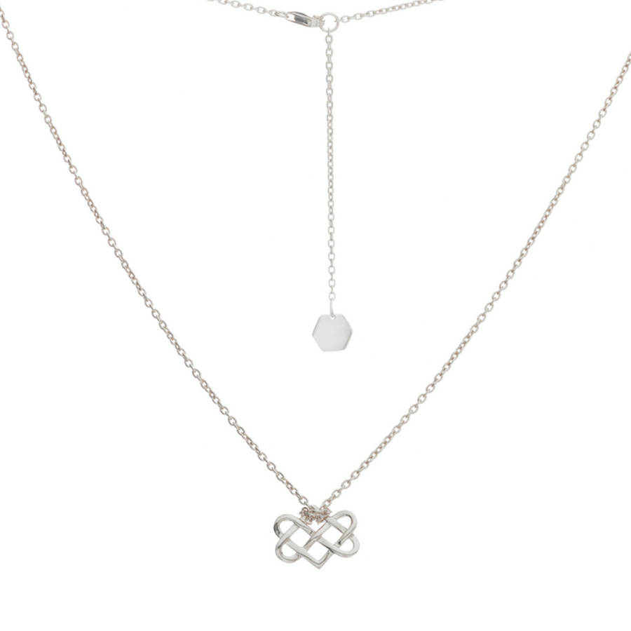 Mini Love Knot Necklace - Carrie K.