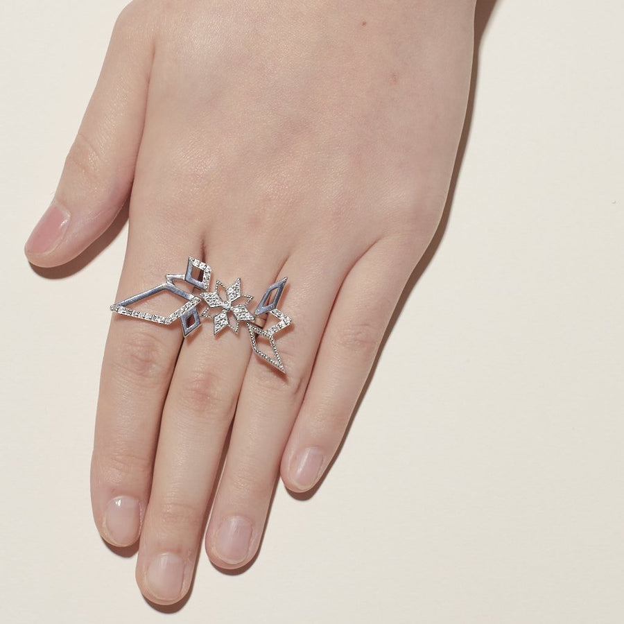 Open Star Ring (18K Gold) - Carrie K.