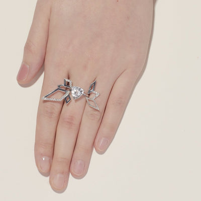 Trilliant Solitaire Ring - Carrie K.