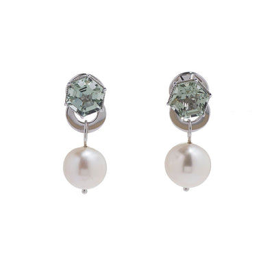 Hexa Pearl Ear Jacket - Carrie K.