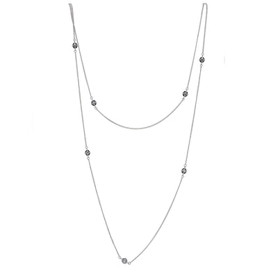 Hexa Bling Chain Necklace - Carrie K.