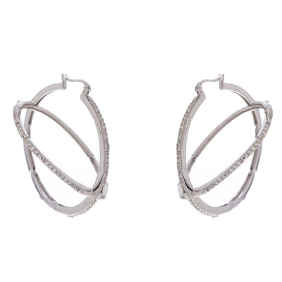 Globe Hoop Earrings - Carrie K.