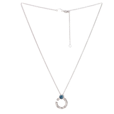 Compass Link Short Necklace - Carrie K.