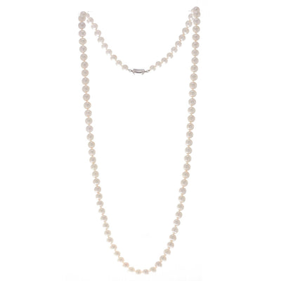8mm Freshwater Classic Pearl Necklace - Carrie K.