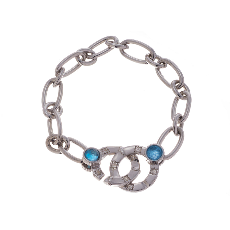 Compass Link Chain Bracelet - Carrie K.