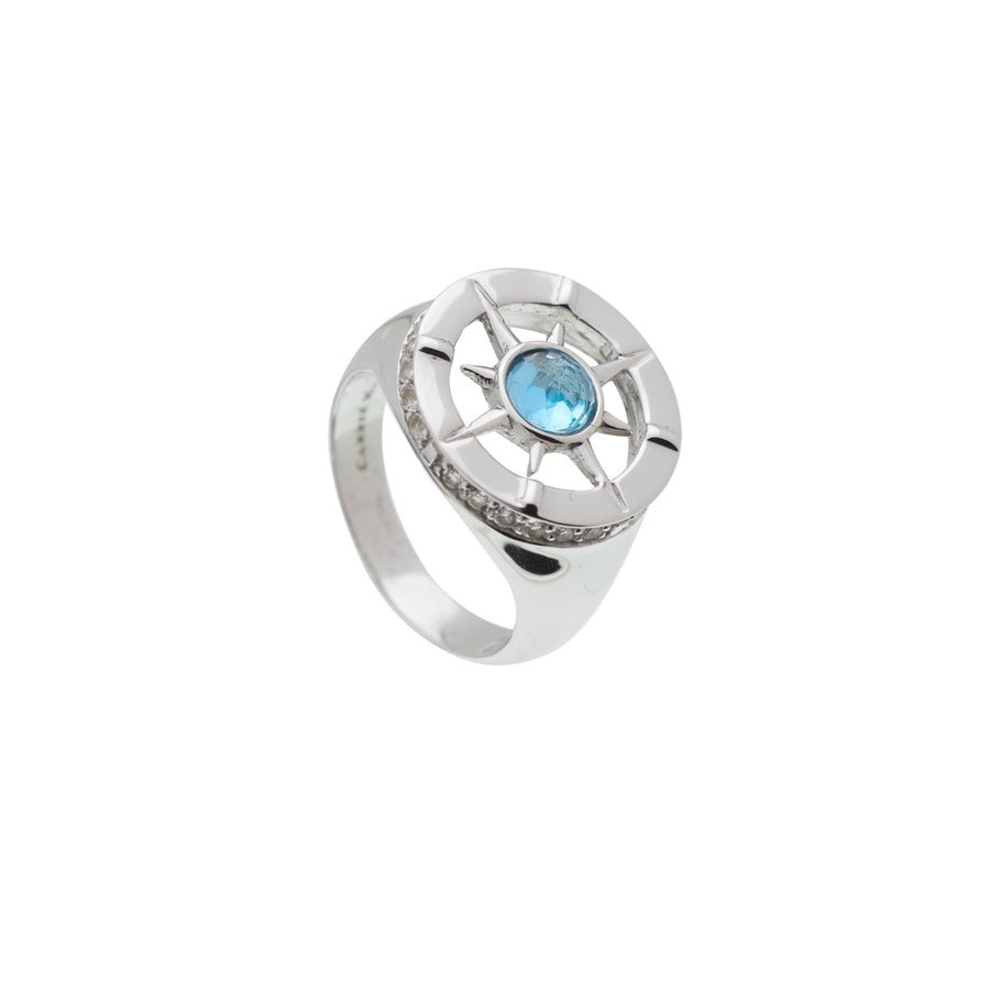 Compass Signet Ring - Carrie K.