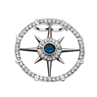 Compass Pearl Clip - Carrie K.