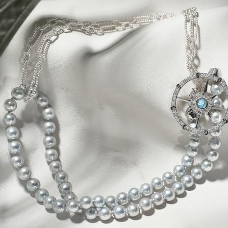 Akoya Pearl Necklace T3 9.0mm - Carrie K.