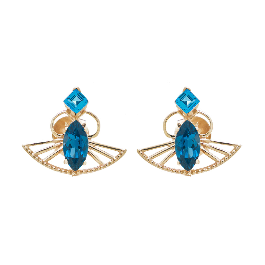 Blessings Studs (18K Gold) - Carrie K.