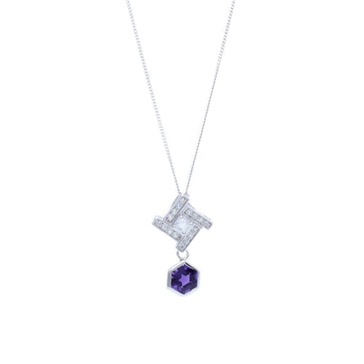 Heritage Hexa Pendant Necklace - Carrie K.