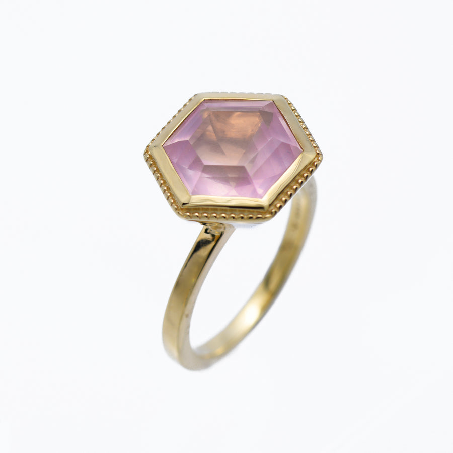 Hexa Ring (9K Gold) - Carrie K.
