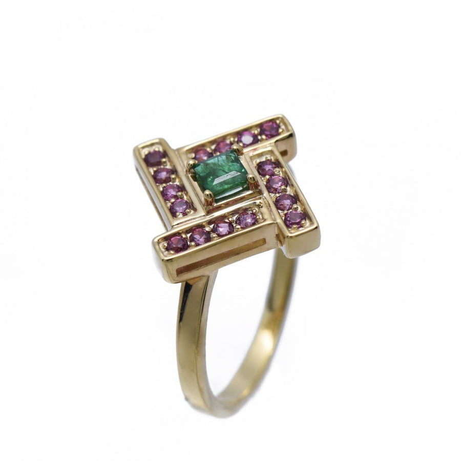 Heritage Center Ring (9K Gold) - Carrie K.