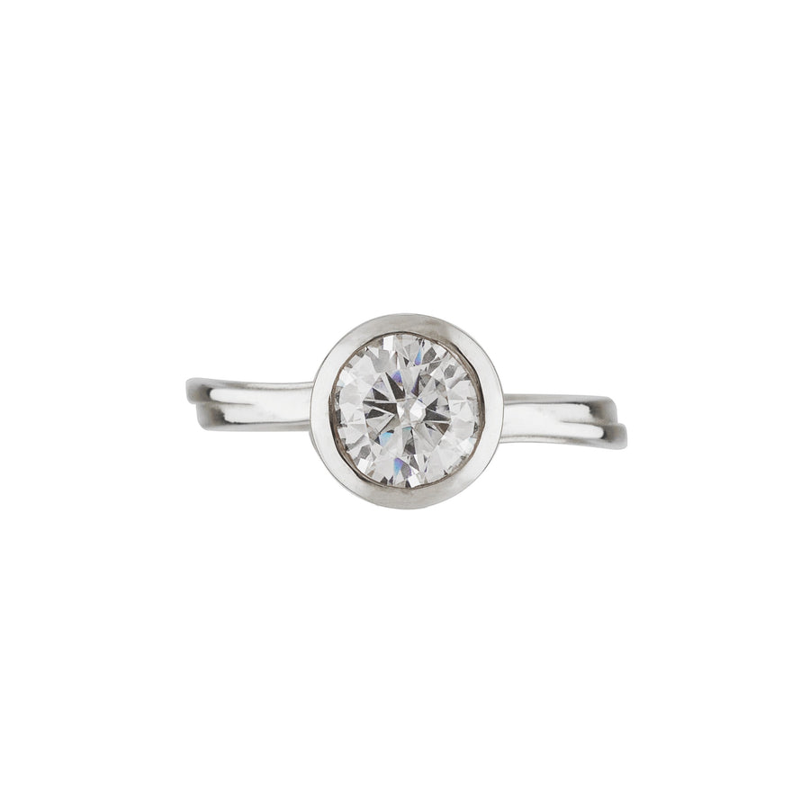Starburst Solitaire Ring - Carrie K.