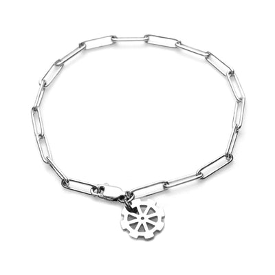 Time Gear Charm Bracelet - Carrie K.
