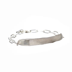 Word Silver Bracelet - TRUTH - Carrie K.
