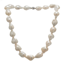 Baroque Freshwater Pearls Necklace T3 12mm - Carrie K.