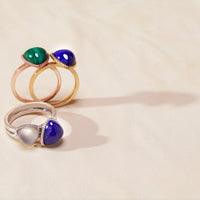 Trilliant Cabochon Ring - Carrie K.