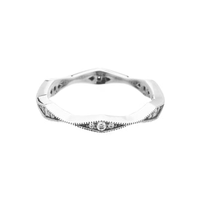 Capella Eternity Ring - Carrie K.
