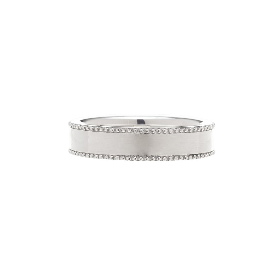 Milgrain Edge Ring - 5.0 mm