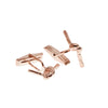 Forget Me Knot Cufflinks - Carrie K.