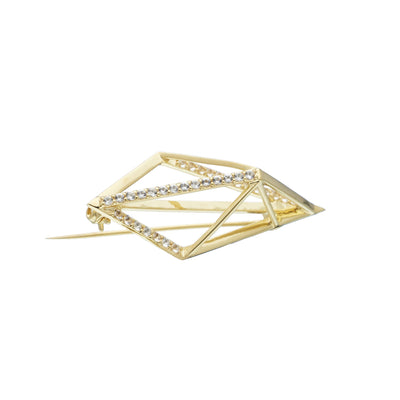 Icon Brooch (9K Gold) - Carrie K.