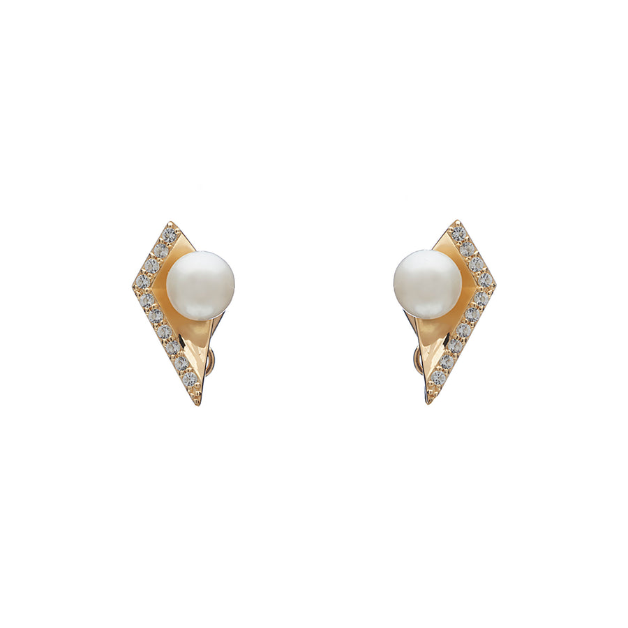 Icon Studs (9K Gold)