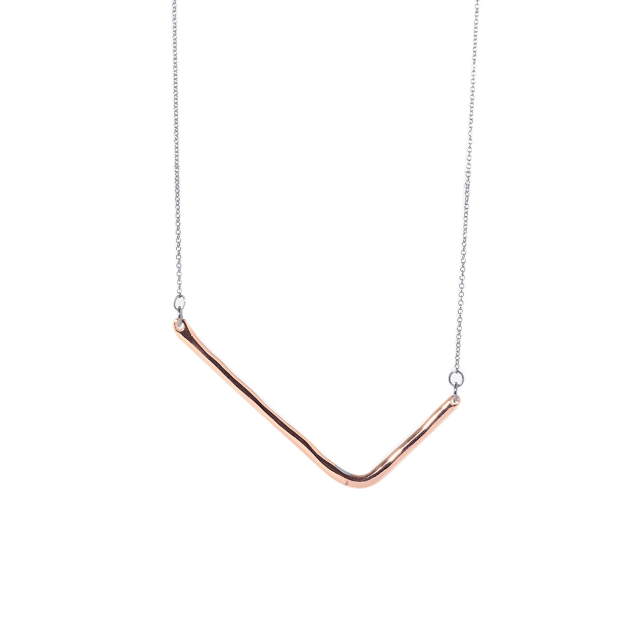 Perfect Square Corner Necklace - Carrie K.