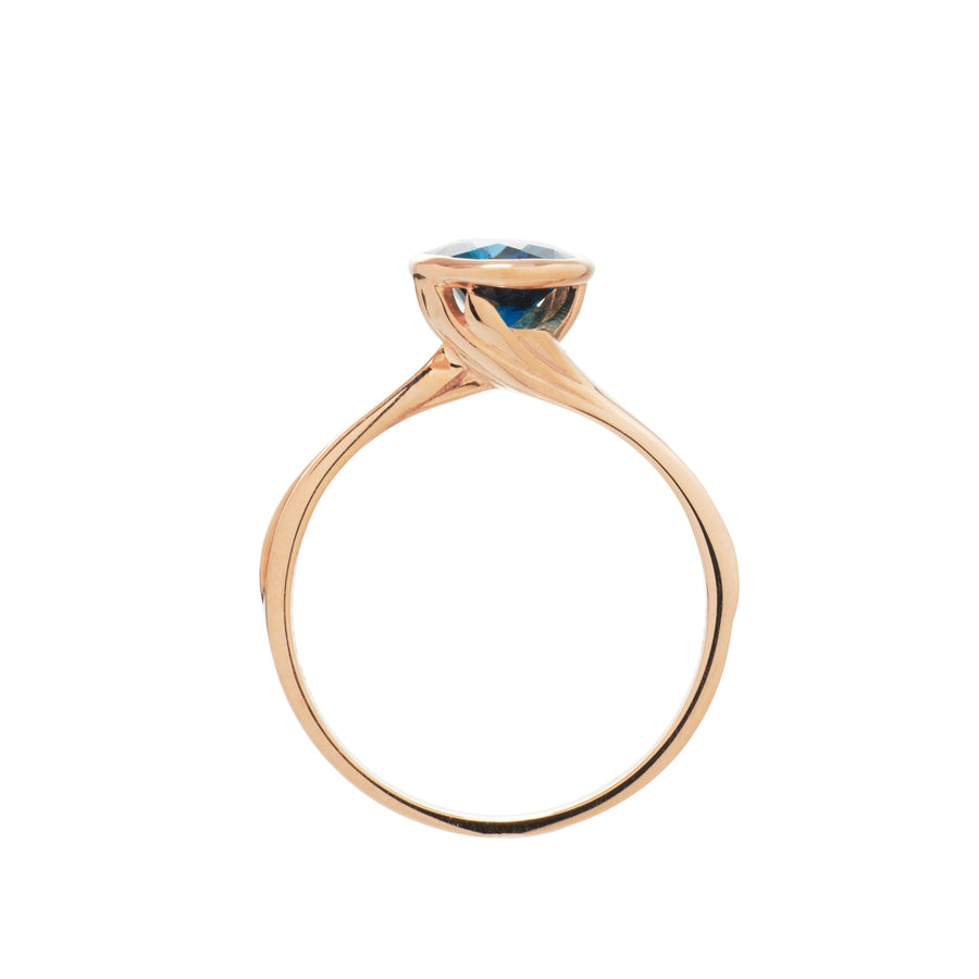 Starburst Solitaire Ring (9K Gold) - Carrie K.