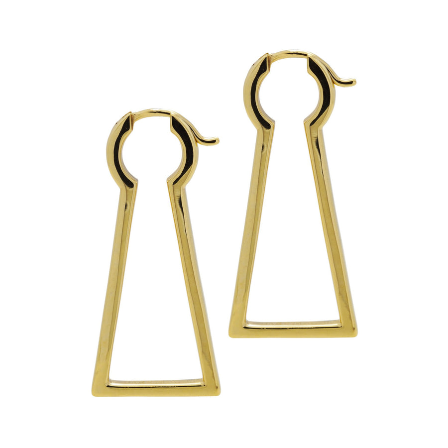 Keyhole Earrings - Carrie K.