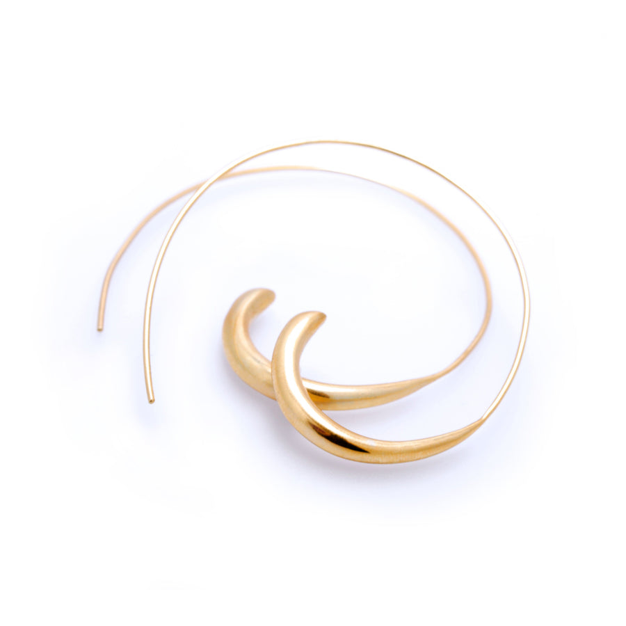 Egyptian Hoop Earrings - Carrie K.