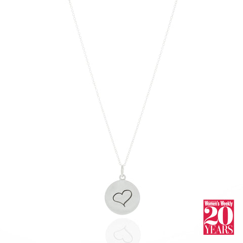 The Singapore Women's Weekly Love Pendant Necklace