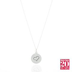 The Singapore Women's Weekly Love Pendant Necklace (Pre-Order) - Carrie K.