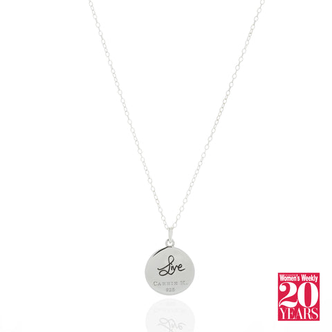 The Singapore Women's Weekly Live Pendant Necklace