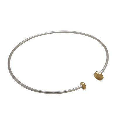 Nut & Bolt Twisty Choker - Carrie K.