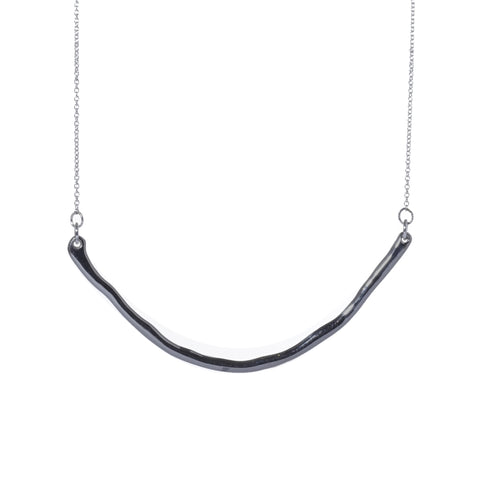 Perfect Square Curve Necklace