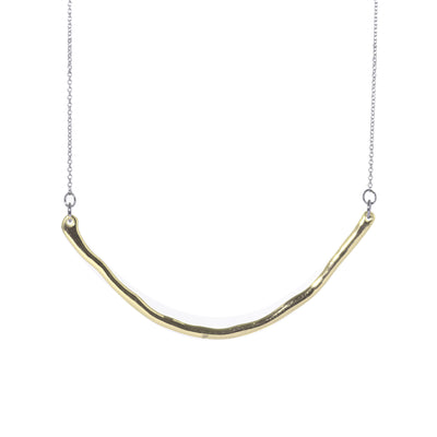 Perfect Square Curve Necklace - Carrie K.