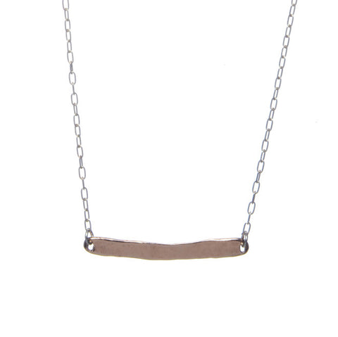 Rose Gold Word Necklace
