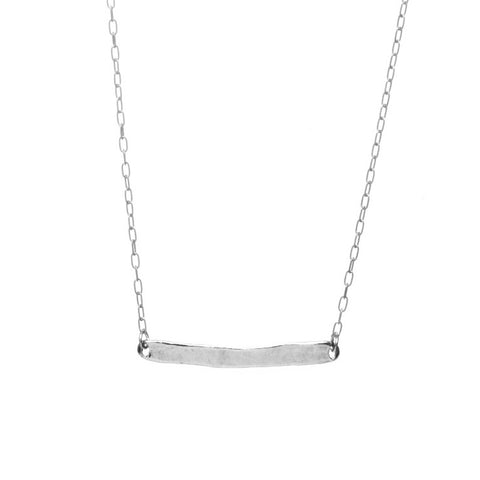 Silver Word Necklace