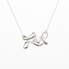 Live Silver Necklace - Carrie K.
