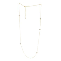 Nut & Bolt Bling Chain Necklace - Carrie K.