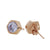 Nut & Bolt Bling Studs